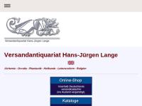 Versandantiquariat Hans-Juergen Lange