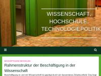 Bundesarbeitsgemeinschaft Wissenschafts-, Hochschul- und Technologiepolitik von Bündnis 90/DIE GRÜNEN