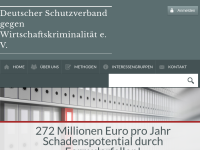 Deutscher Schutzverband gegen Wirtschaftskriminalität