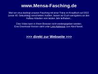 Mensa Faschings Komitee der Bauhausuniversität Weimar e.V.