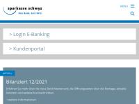 Sparkasse Schwyz, vormals Gemeindekasse, jetzt RBA