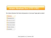 Johann Abraham Sixt