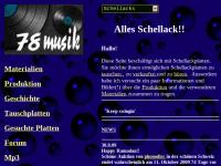 Schellackplattenmarkt / 78er Musik
