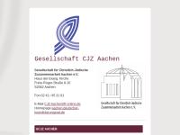 Aachen - Gesellschaft für christlich-jüdische Zusammenarbeit