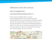 Evangelischer Gemeinschaftsverband AB e.V.