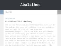 Abalathes