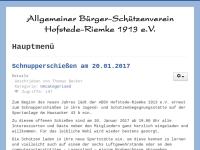 Allgemeiner Bürger-Schützenverein Hofstede-Riemke 1913 e.V.