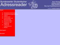 Bundesweiter Studentischer Adressreader