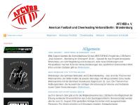 American Football und Cheerleading Verband Berlin/Brandenburg e.V.