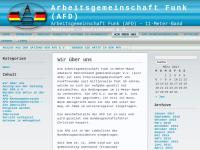 Arbeitsgemeinschaft Funk Deutschland e.V. (AFD)