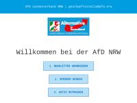 Alternative für Deutschland (AfD), Landesverband Nordrhein-Westfalen