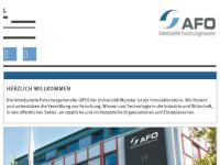 Arbeitsstelle Forschungstransfer der Westfälischen Wilhelms-Universität Münster (AFO)