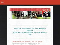 AH Fußballmannschaft des FSV Nieder Olm