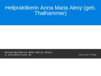 Anna Maria Alexy