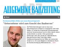 ABZ - Allgemeine BauZeitung