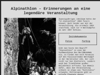Alpinathlon - Erinnerungen an eine legendäre Veranstaltung
