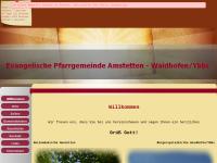 Evangelische Pfarrgemeinde Amstetten