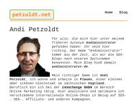 Andiministrator; Andi Petzoldt