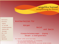 Angelika Hansel, Entspannung für Frauen