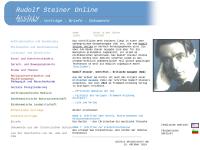 Rudolf Steiner Online Archiv