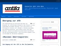 """""""antifa"""" - Magazin für antifaschistische Politik und Kultur"""
