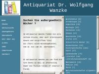 Antiquariat Dr. Wolfgang Wanzke