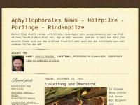 Aphyllophorales - Nichtblätterpilze