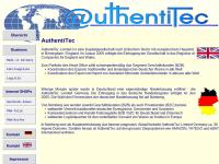 Authentitec Limited, René Baumgarten