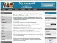 Autogrammwelt, Burkhard Schubert