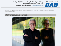 Erfahrungsaustausch-Kreise (Dr.-Ing. E.R. Weng)