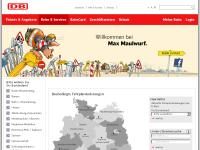 Deutsche Bahn - Baubedingte Fahrplanänderungen