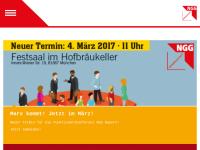 Gewerkschaft Nahrung-Genuss-Gaststätten [NGG]- Landesbezirk Bayern