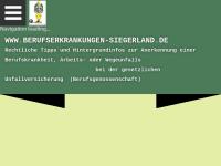 Berufserkrankungen Siegerland