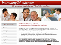 Betreuung24 Zuhause, Janina Wolter