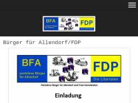 Bürger für Allendorf und Freie Demokratische Partei