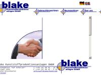 Blake Kunststoffproduktionsanlagen GmbH