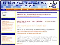 Schachgemeinschaft Blau Weiß Stadtilm e.V.