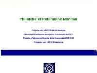 Philatelie und UNESCO Welterbe