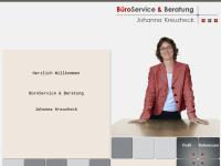 Büroservice & Beratung Johanna Kreuzheck