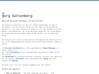 Deutsche Greifenwarte Burg Guttenberg