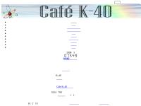 Disc Golf @ Cafe K-40