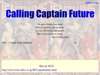 Calling Captain Future