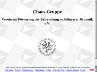 Interdisziplinäres Who-Is-Who-Handbuch der Nichtlinearen Dynamik