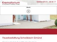 Krematorium Schwäbisch Gmünd GmbH