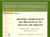 Sprach-Dienstleistung