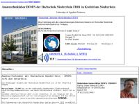 HS Niederrhein, Interessengemeinschaft Amateur- und Notfunk