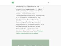 Deutsche Gesellschaft für Information und Wissen e.V.