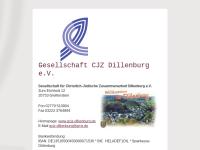 Dillenburg - Gesellschaft für Christlich-Jüdische Zusammenarbeit