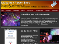 Discothek Power-Shop