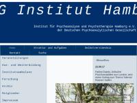 DPG - Institut für Psychoanalyse und Psychotherapie Hamburg e. V.